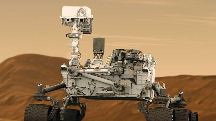 image for Mars Rover determines that Mars is FLAT!