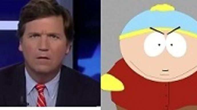 image for Tucker Carlson, Under Fire at Fox News, to Replace Eric Cartman on South Park