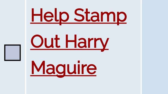 image for Harry Maguire Commemorative Stamp To Be Issued By Royal Mail