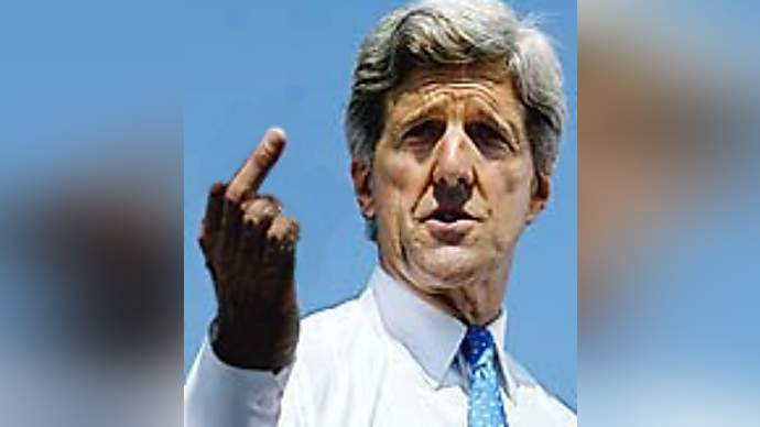 image for John Kerry Campaign Manager, Mary Beth Cahill, quits as annual earnings approach $200k.