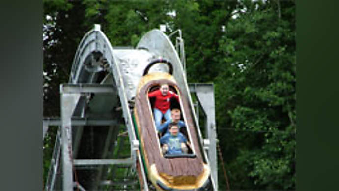 image for Town appalled flume ride uses dirty water