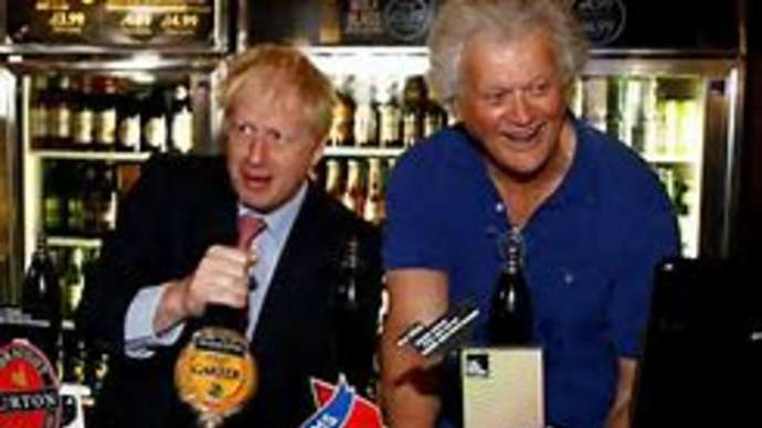 image for New Prime Minister Boris Johnson Pledges to Nationalise Wetherspoons