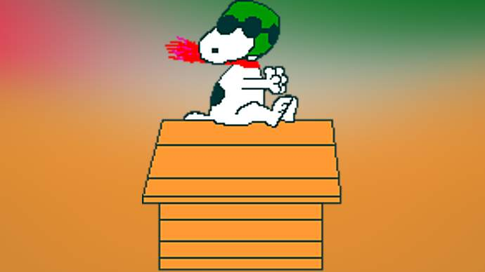 image for WORLD WAR I FLYING ACE SNOOPY RECALLED TO SERVE IN IRAQ