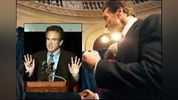 image for Governor Schwarzenegger Debates Liberals Beatty and Reiner