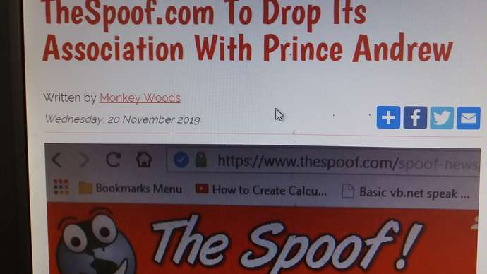 image for TheSpoof.com To End Its Association With Prince Andrew
