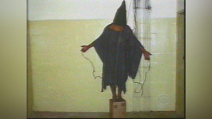 image for Abu Ghraib General Given Stern Talking To