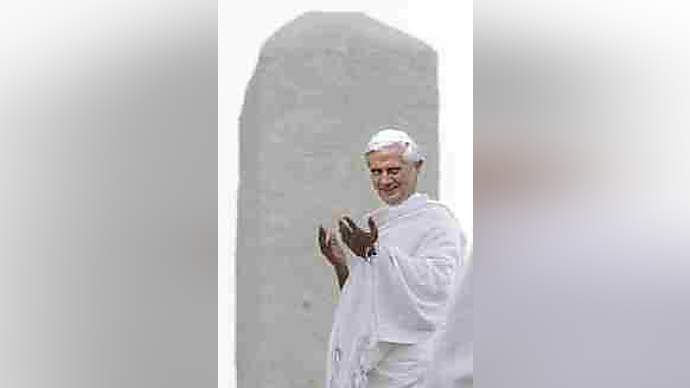 image for Pope Benedict Converts to Islam