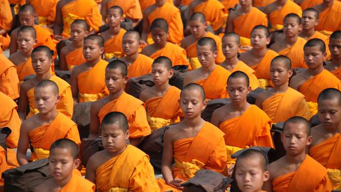 image for Buddhist Chanting Got On Man's Wick