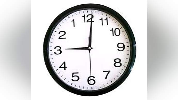 image for Man Puts Clock Forward Instead Of Back!