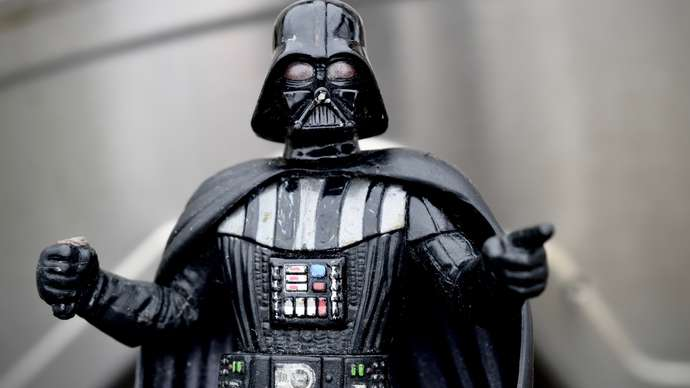 """image for Darth Vader's Explosive Tell-All Book """"Force of Habit"""" Confesses Addiction To Force - """"But Nobody Forced Me To Do It,"""" He Says"""