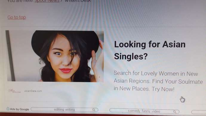 image for Man Wasn't Looking For Asian Singles, But Thought He'd Look Into It Anyway