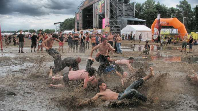 image for Glastonbury Fans Say They'll Want A Refund If It Doesn't Turn Into A Quagmire