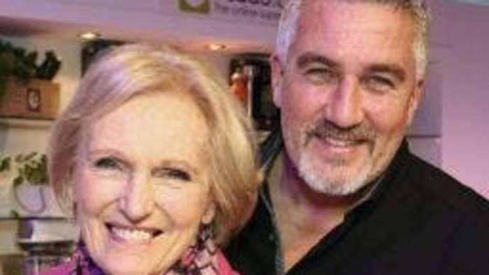 image for I miss being masturbated by Mary Berry says Bake Off's Paul Hollywood