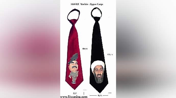 image for Bush, Rumsfeld Offer Proof of Saddam/ Bin Laden Ties