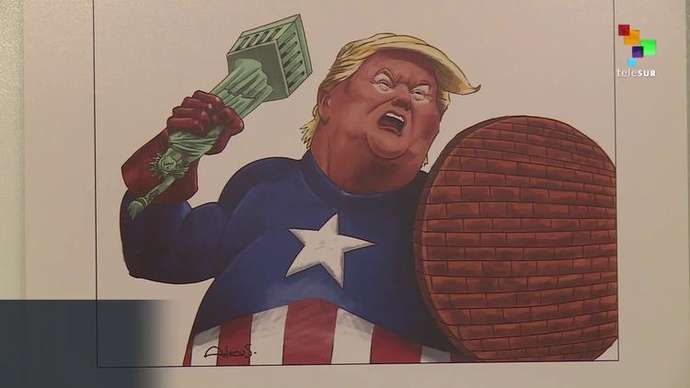 image for I Thought These People Weren't Supposed To Have A Sense Of Humor- Iran Has a Trump Cartoon Contest!