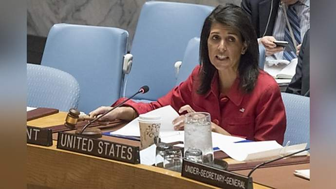 image for Nikki Haley to be offered up as one of Mr. Trump's options on the table