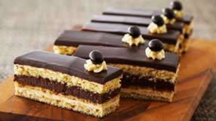image for Golden Globe Goers Complain Vegan Opera Cake a Little Dry