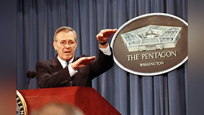 image for Rumsfeld Insane