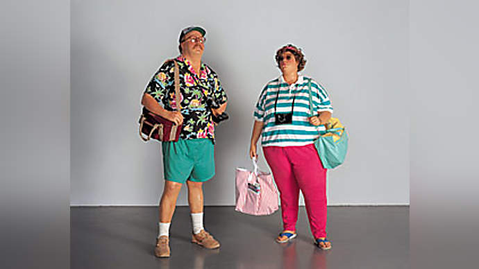 image for Man Loves His Wife So Much, He Hasn't Got The Heart To Tell Her That Her Dress Is Absolutely Fucking Garish