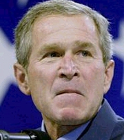 image for George W. Bush gives everyone's money to fat rich bastards
