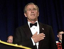 image for George W. Bush Totally Shitfaced, Sources Say