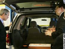 """image for Bush buys Mazda's new """"pot smuggler"""" minivan"""