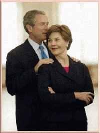 image for Laura Bush pregnant?