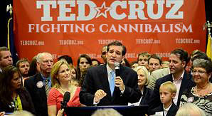 image for Ted Cruz Accuses Rivals Of Cannibalism
