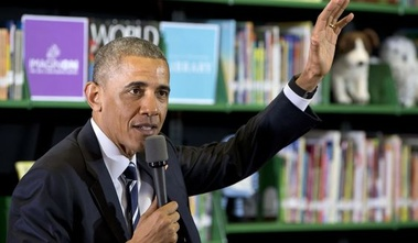 image for Obama Tells Grade School Students He Is Not A Tax and Spend Liberal