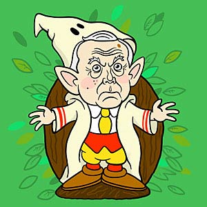 image for Jeff Sessions Returns to His Elfin Village