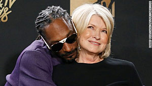 image for Snoop Dogg Knocks Up Martha Stewart?