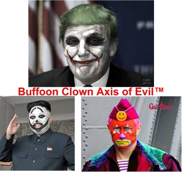 image for Scary Clowns make a Resurgence - Seen stalking the halls of Whitehouse