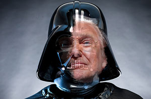 image for Trump Goes To Dark Side, Changes Name To Darth Hirsutias