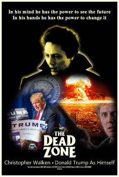 "image for All Copies Of The Movie ""The Dead Zone"" Quietly Purchased And Destroyed By Trump Front Company"