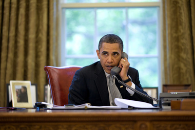 image for Obama and Kim Jong-Un Phone Call