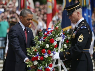 image for Obama Tells Americans To Remember Soldiers Who Didn't Sacrifice