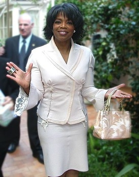 image for Oprah Building Backup Government