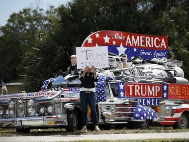 image for After Bus Shortage Trump.com™ orders some el magnifico Under the Bus Presidential Cars to clear backlog.