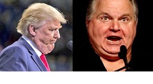 "image for Multi-Chin Celebrities Trump and Limbaugh in Legal Fight Over ""Pencil Neck"" Nickname Trademark"