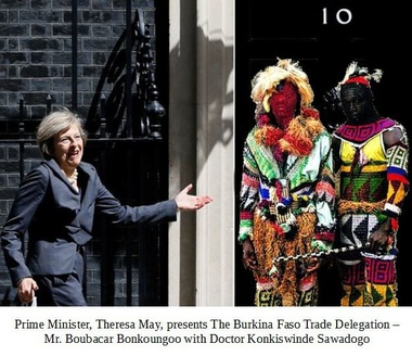 image for Two Fingers to the EU as UK Signs Trade Deal With Burkina Faso