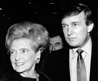 image for Trump admits he'd have dated his mother if she hadn't been, you know, his mother