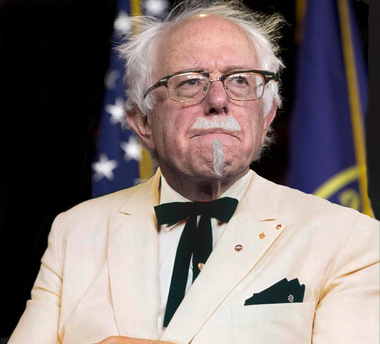 image for Clinton campaign claims Bernie related to Colonel Sanders