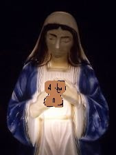 image for Slice of Toast Image Mysteriously Appears in Virgin Mary Blow Mold
