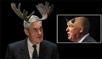 image for Robert Mueller Lets His Antlers Grow Ahead of Looming Trump Battle