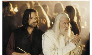 image for Lord of the Wedding Rings: Gandalf gets hitched
