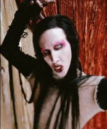 image for Marilyn Manson Endorses Bush in Last Ditch Effort to Shock People