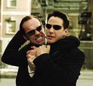 """image for Matrix fan """"thrilled"""" his new English teacher is Greg Anderson"""