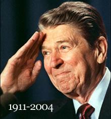 image for Reagan sightings begin