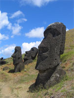 image for Easter Island Statue Begs for Somebody to Scratch his Nose