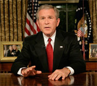 image for George W Bush says UK lives 'saved by watersports'